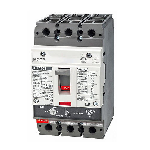 Nema 2 MCB - 100 Amp - 15-25hp