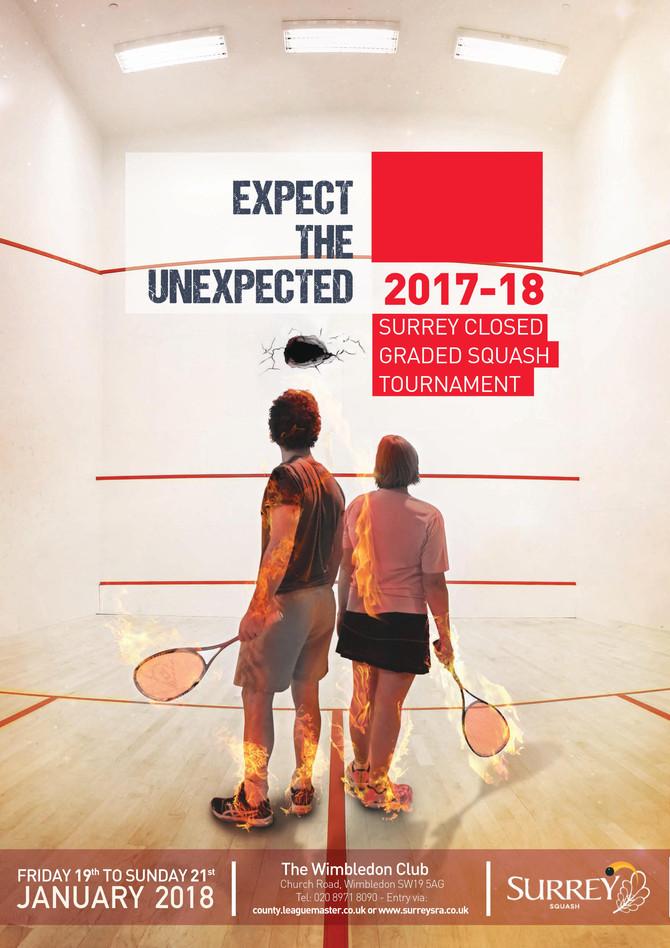 2018 Senior Surrey Closed Graded Squash Tournament
