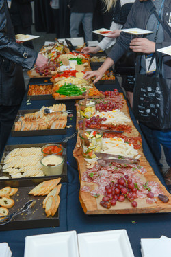 LMS after-party food