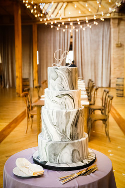 Silver Marble Cake