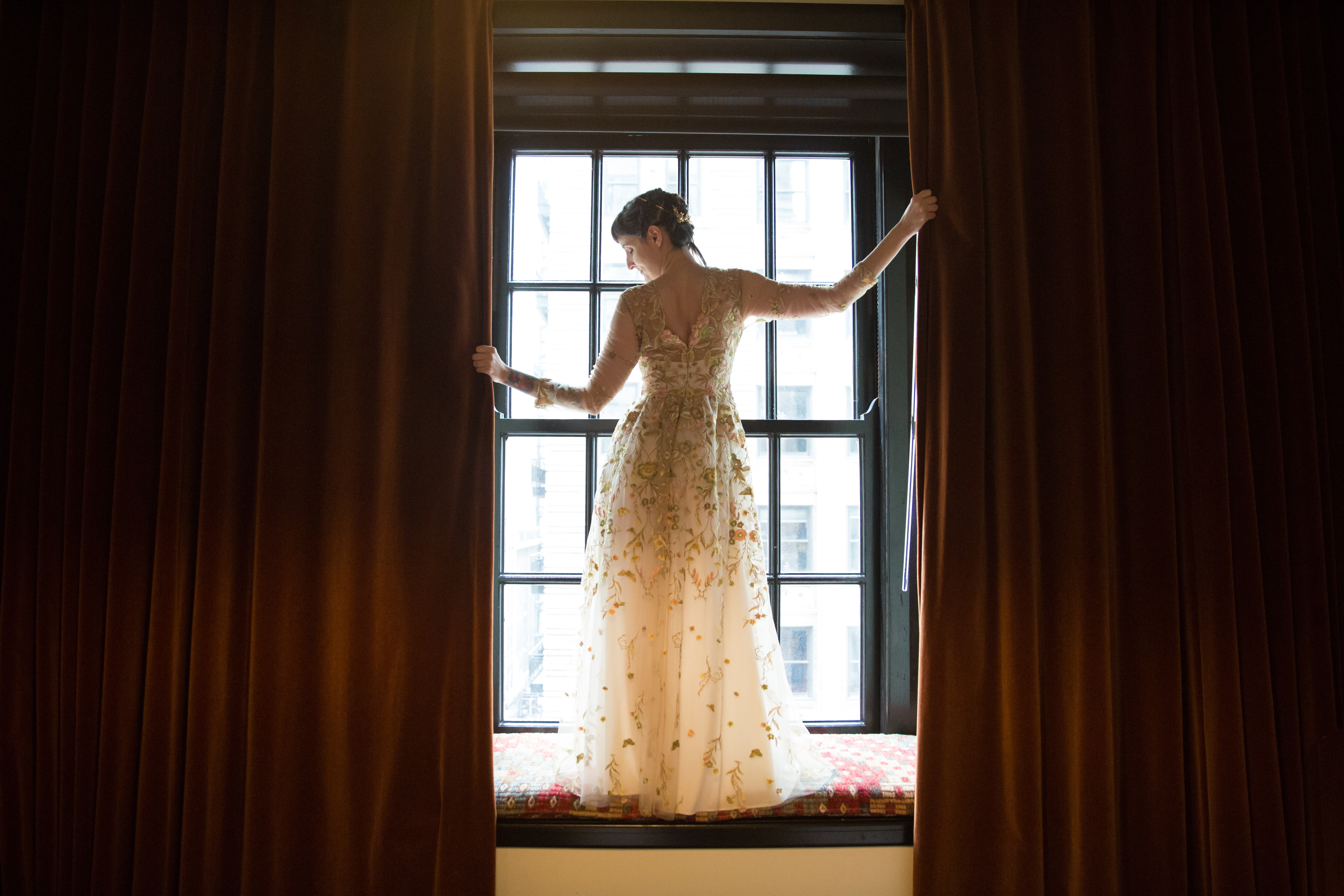 Bride at Chicago Athletic Club