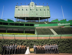 Bridal Party at the Ivy
