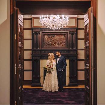 Bride and Groom - Ritz Carlton Vienna