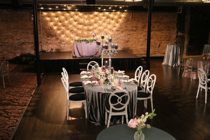 Head Table at Chicago Theater Works