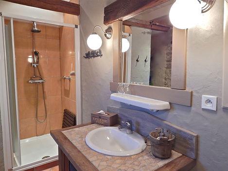 Salle d'eau douche XL