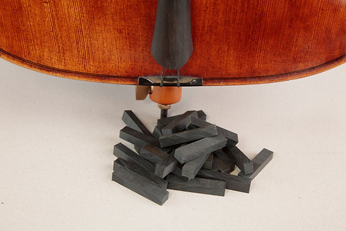 Cello - Lower nut - Blank (Pack of 5)