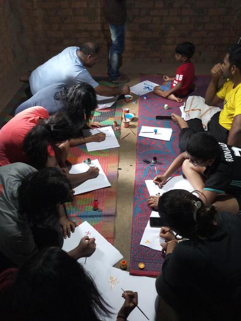 Jawhar Warli Workshop