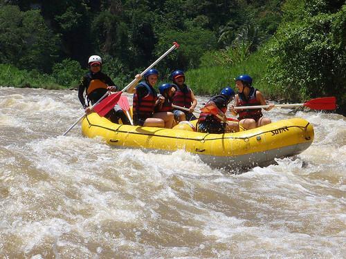 Tripse rafting