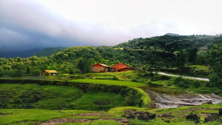 Village in Bhandardara