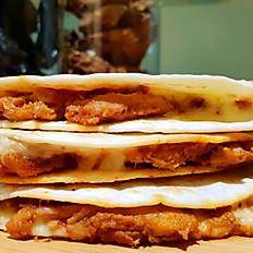 Chicken Pastor Quesadilla