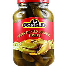 Green Pickled Jalapeño Pepper