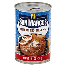 Refried Bayo (Pinto) Beans, San Marcos, 430g