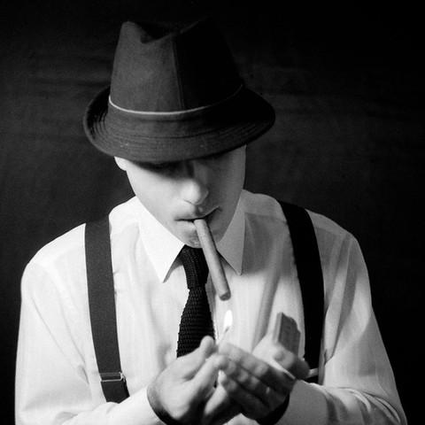 El fumador / On portraiture