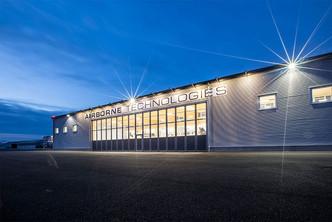 Aluminium Falttor AL603F für Hangar und Flugplatz