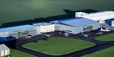 Airborne Technologies mit SCHNEIDER Falttoren