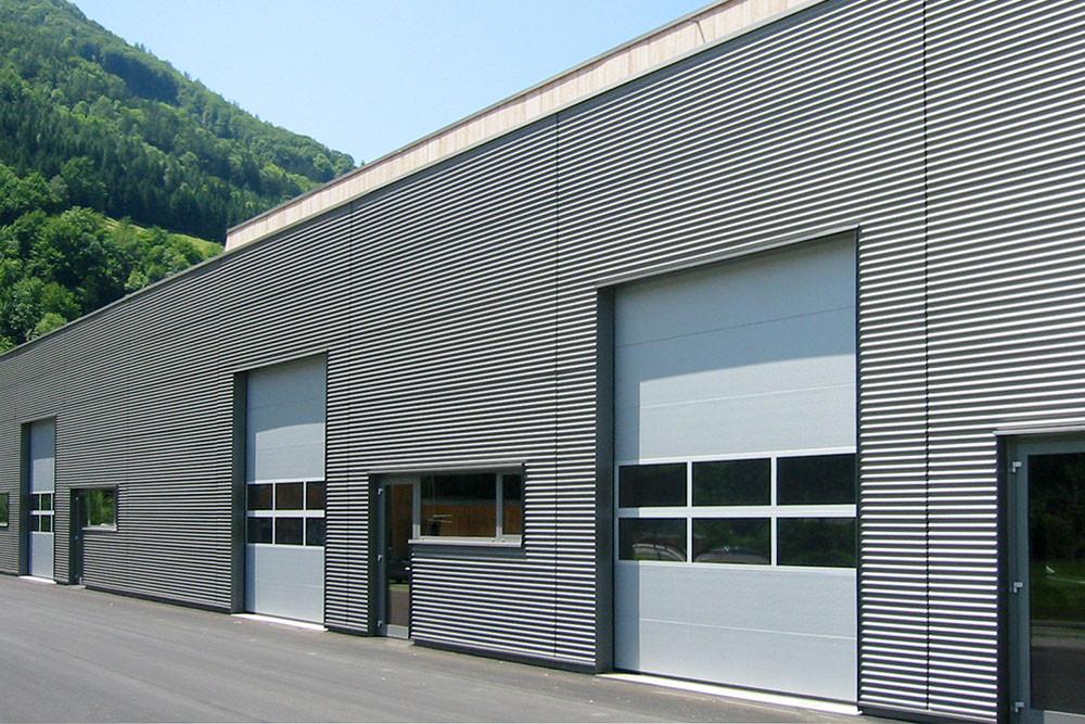 Industrietor Bauhof Sektionaltore ISO40 grau