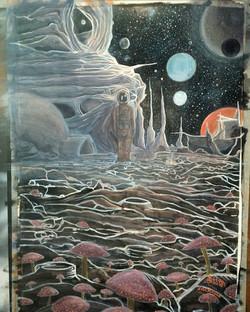 Yuri Gagarin e os fungos espaciais
