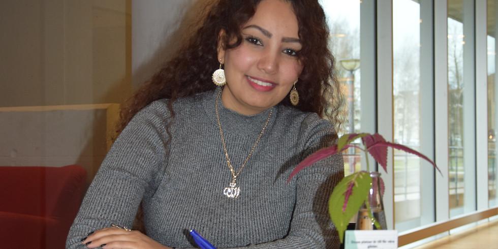INSTÄLLT Fria ord på konsthallen: Boksläpp med Maha Nasser