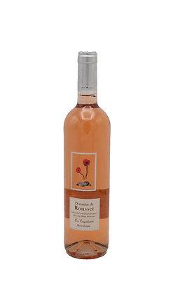 Les Coquelicots, Rosé fruité, Domaine de Rousset