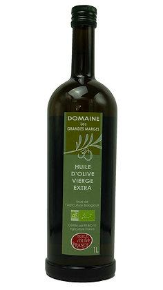 Huile d'olive bio fruité vert goût intense