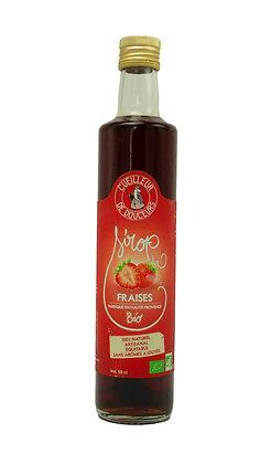 Sirop de fraises bio 50cl