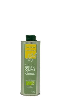 Bidon Huile d'olive et de citron 25cl