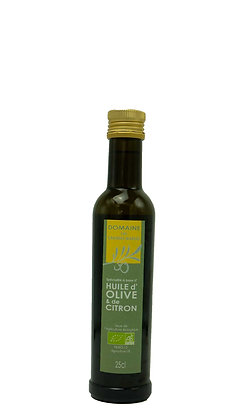 Huile d'olive et de citron, 25cl