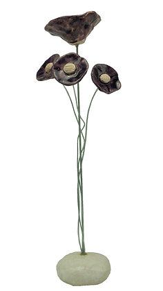 Composition florale, diffuseur 4 fleurs