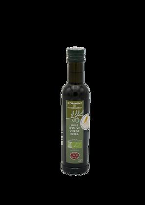 Huile d'olive bio 25cl, Fruité mûr, goût subtil