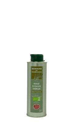 Huile d'olive bio 25cl, goût à l'ancienne