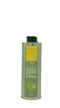 Huile d'olive et de citron 50cl