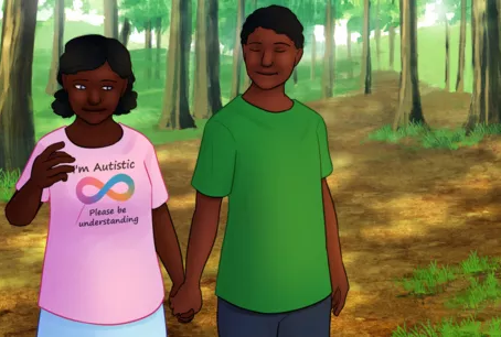 when The Black Girl turns out to be Autistic by Lauren P.