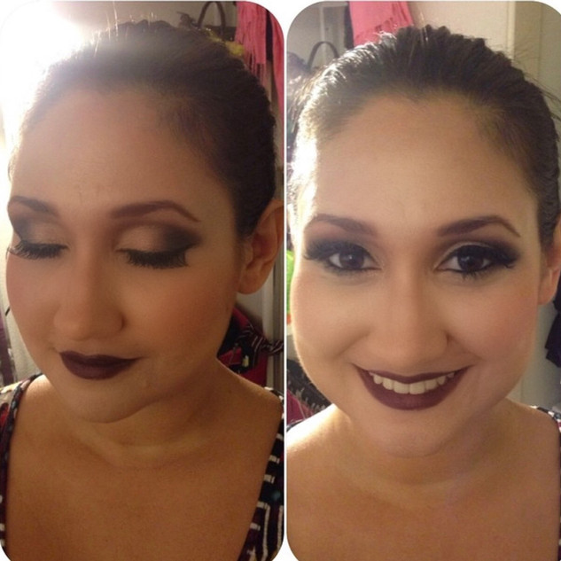 Sultry Makeup