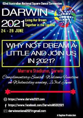Darwin2021 January 2020 poster for magas