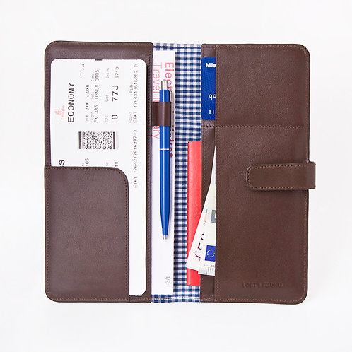 Travelorganizer Chocolate von LOST&FOUND