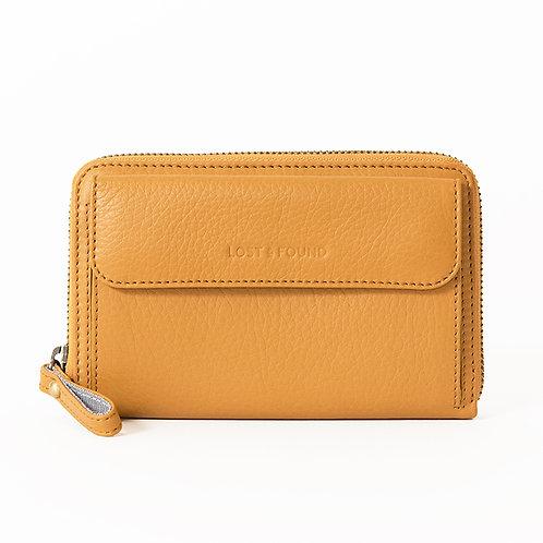 Smartphone Wallet Mustard    LOST&FOUND