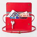 praktische Minibag rot