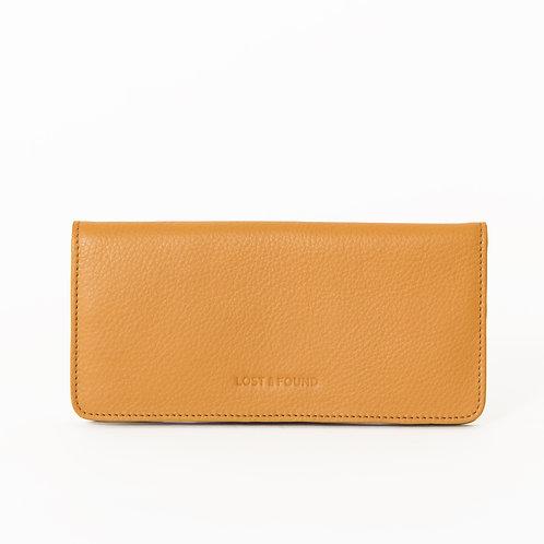 Slim Wallet Mustard von LOST&FOUND