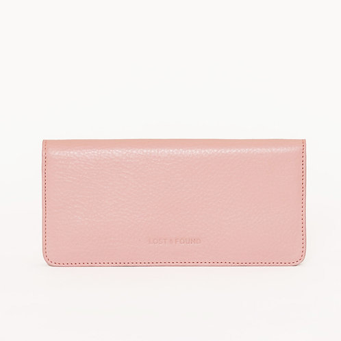 Slim Wallet Blush   LOST&FOUND