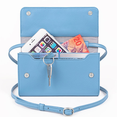 Minibag PLUS Sky Blue von LOST&FOUND