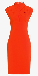 sexy kleid in orange für valentinstag