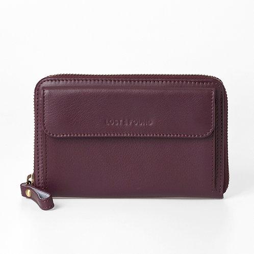Smartphone Wallet burgundy    LOST&FOUND