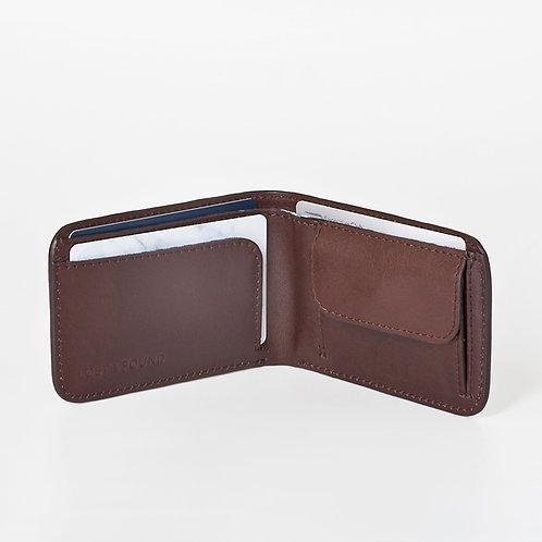 Men Wallet slim chocolate   LOST&FOUND