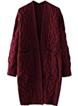 Damen Pullover Cardigan Mantel