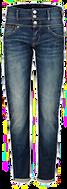 Jeans, in moderner Waschung, Modisch, Baumwolle
