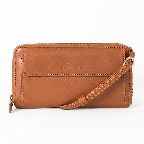 Crossbody Wallet caramel     LOST&FOUND