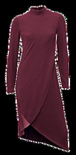 purpel kleid valentinstag date