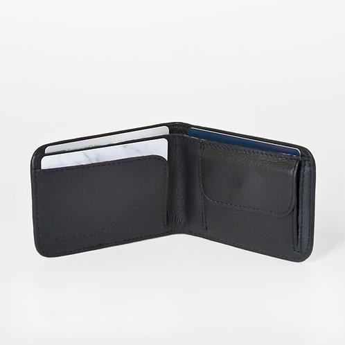 Men Wallet slim black   LOST&FOUND