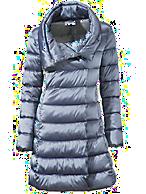 Steppmantel wärmeisolierend blau