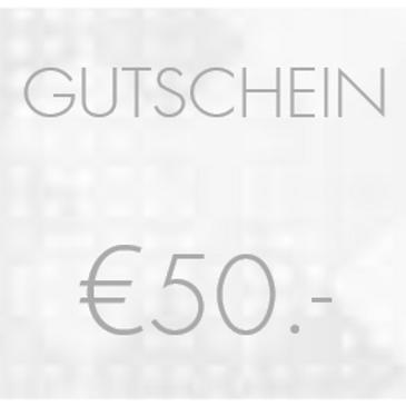 50.- EURO FASHonROAD.com Gutschein